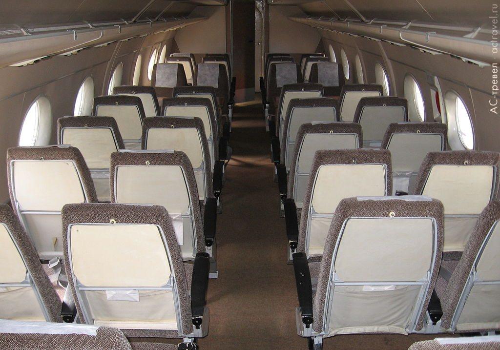 Самолет АН24 Фото схема салона отзывы характеристики