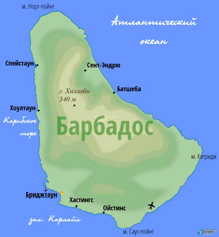 Картинки по запросу барбадос карта фото
