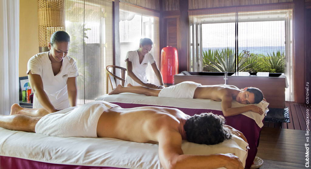 SPA-центр в Club Med La Plantation d'Albion