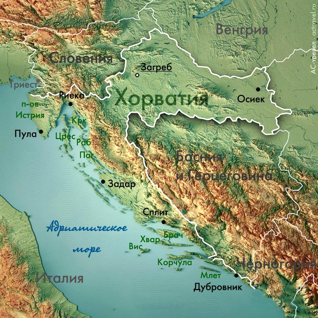 Абхазия на политической карте мира