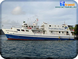 Дайверская яхта Pacific Explorer