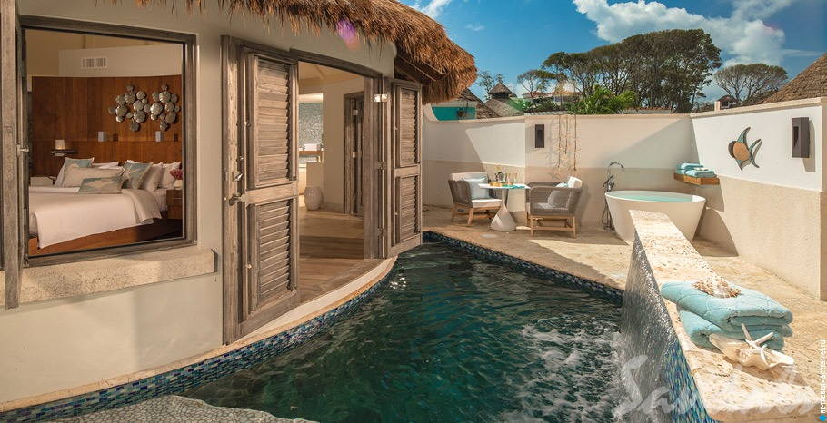 South Seas Royal Rondoval Butler Suite w/ Private Pool Sanctuary