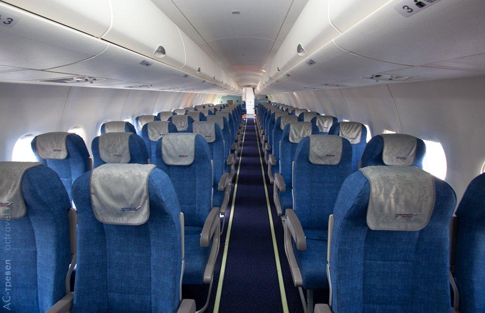 Салон (эконом-класс) самолета