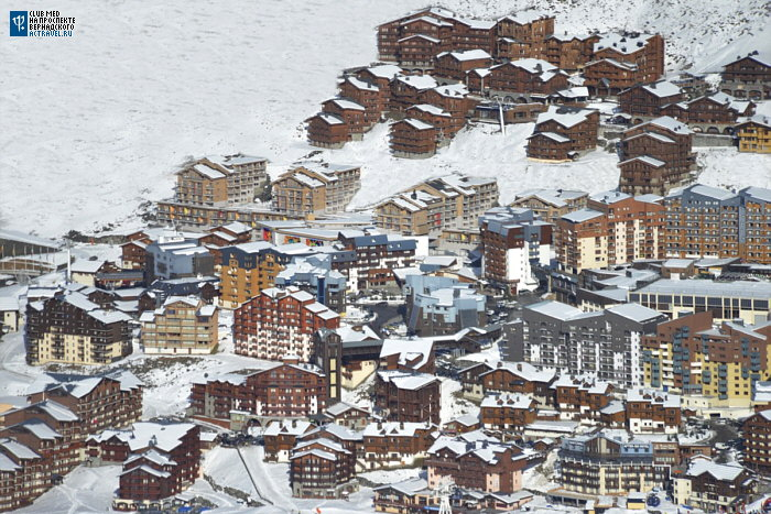 Расположение Club Med Val Thorens Sensations в Валь-Торансе