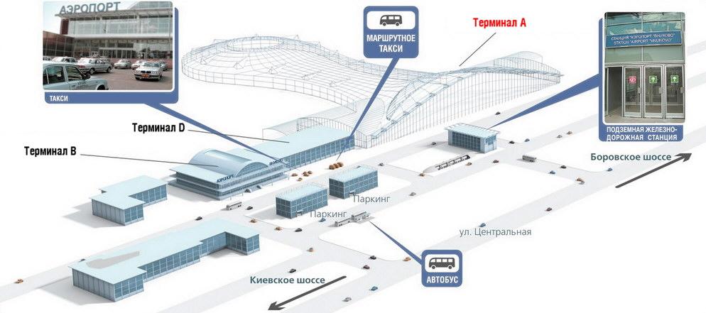 Новый терминал получил